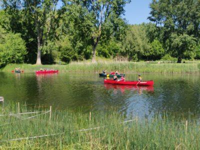 Eerste kano opkomst 2020